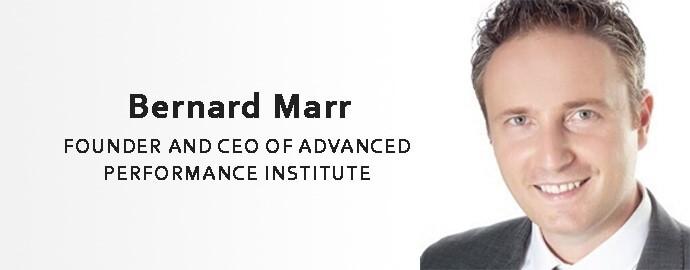 Bernard Marr - top big data and data science experts