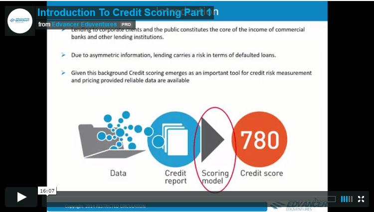 Risk Analytics Course Video