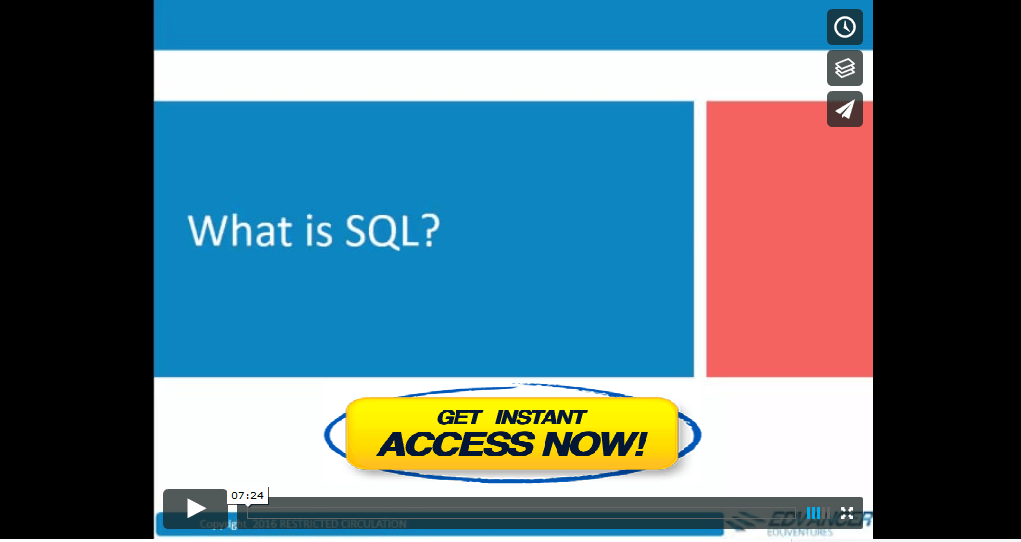 how to become expert in sql queries