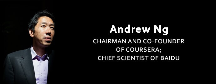 Andrew Ng- top big data and data science experts