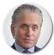 - Gordon Gekko, fictional character in the 1987 film Wall Street and its 2010 sequel Wall Street: Money Never Sleeps, played by Michael Douglas